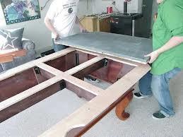 Pool table moves in Visalia California